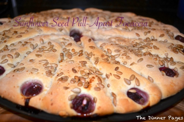 Sunflower Seed Pull-Apart Focaccia