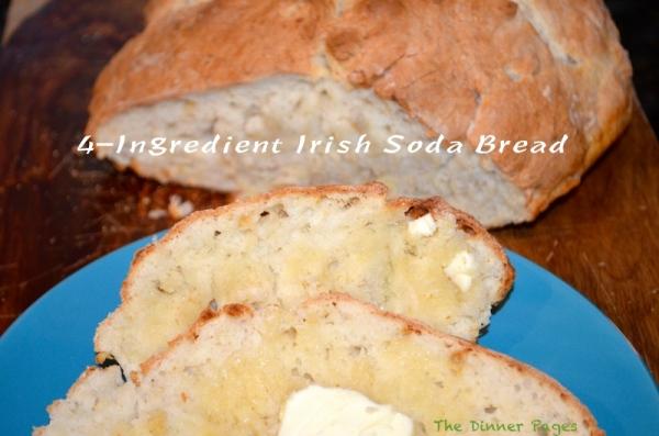 4-Ingredient Irish Soda Bread